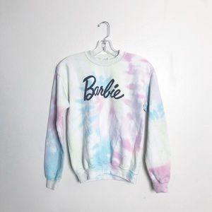 VINTAGE • Barbie tie dye crewneck sweatshirt